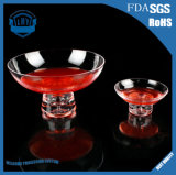 Crystal Glass Salad Bowl of Ice Cream Glass Bowl
