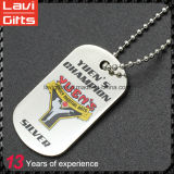 Cheap Blank Metal Sublimation Custom Blank Name ID Printing Military Dog Tag Wholesale