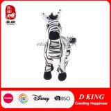 Ce ISO9001 Small Jungle Animal Stuffed Plush Zebra Toy