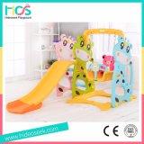 Plastic slide and swing/playpen/rocking rider