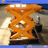 Sjg0.3-1.2 1.2 Meter High Quality Fixed Scissor Lift