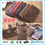 Retro Leather Wallet Flip Case for Samsung Galaxy Phone
