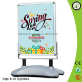 A1 Outdoor Advertising Poster Stand with Water Filled Base