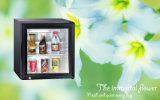 Hotel Kitchen Appliance Desktop Mini Fridge 28L Absorption Cooler with Glass Door