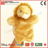 Stuffed Plush Animal Lion Hand Puppet for Kids/Children