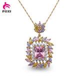 Saudi Gold Plated Jewelry 24k Custom Pendants Jewellery