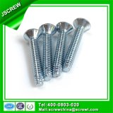 Steel Slotted Phillips Oval Head 8#*34 Machine Screw for Wood