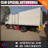 Right Hand Drive 10t Meat Refrigerated Truck Medical Waste Collection Vehicle