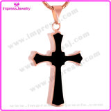 Cheap Cross Cremation Pendant Necklace for Memorial Keepsake Urn (IJD8023)