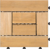 Easy Intallation Outdoor Wood Interlocking Floor 30*30cm