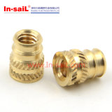 Brass insert nuts for plastics
