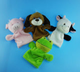 Kids Toy Piggy, Dog, Cow and Frog Hand Puppet Toy