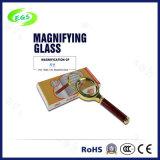 5X Portable Mini Multi-Functional Magnifier Lamp/Lens, High Quality Metal Handheld Reading Magnifier (EGS-SZ-83HS)