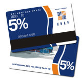 Discounting Plastic Card