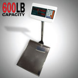 600 Lb Digital Floor Platform Shipping Warehouse Postal Weight Computing Scale (HD0915)