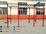 Pull up Bar Stand Free Standing Aerial Rig Free Standing Pull up Bar Crossfit Cage Crossfit Equipment for Home Rig