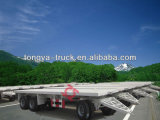 Utiltiy 3 Axles with Twist Locks Container Dolly Trailer