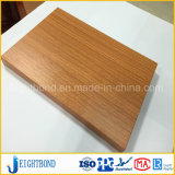 Reliable Wooden Grain Aluminum Honeycomb Panels for Partition