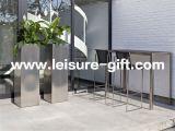 Stainless Steel Flower Pot Square Garden Box