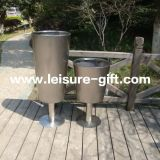 Fo-9030 Metal Cup-Shaped Garden Planter