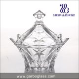 8′′ New Style Glass Candy Pot (GB1832ljx)
