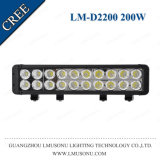 Lmusonu 12V 24V Waterproof IP67 High Power 17.5 Inch Slim Double Row Car Light LED Bar 200W