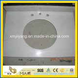 Prefabricated Pearl White Granite Bathroom Vanity Top