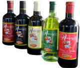 Custom Printed Adhesive Rolled Wine Bottle Labels