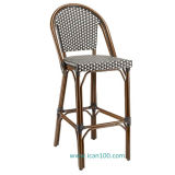 Bamboo Looking Commercial Bar Chairs (BC-08029BH)