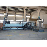 Plastic Pelletizing Recycling Line and Single Screw Granulating Extruder