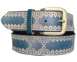 Lady Embossed Fashion PU Belt Ky1631