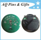 LED Blinking Button Badge or Tin Badge for Advertising Buttons (button badge-06)