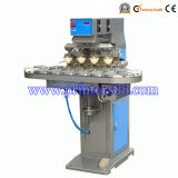 Four Color Conveyor Pad Printer Machine