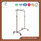 Industrial Garment Rack with 2 Way Hang Rail Bars