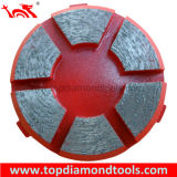 Diamond Grinding Disk with 6 Segment for Concrete Floor Polishing