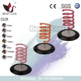Colorful Plastic Base Dryer Holder Stand for Salon and Family Barber Shop