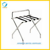High Quality Stainless Steel Luggage Rack with Sliver Chrome