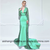 V-Neck Mermaid Long Evening Dress