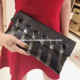 Stock Fashion Real Leather Small Crossbody Clutch Bag for Ladies