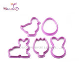 Cake Tools Food Grade PP Cookie Cutter Set of 5