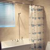 Lovely Bathtub PEVA Waterproof Shower Curtain for Bathroom