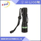 Aluminum Flashlight, Manual Rechargeable Flashlight