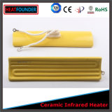 Yellow Color Far Infrared Ceramic Heating Emitter (flat shape)