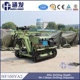 Hard Rock Expert! Hf100ya2 Durable DTH Blasting Hole Drilling Rig