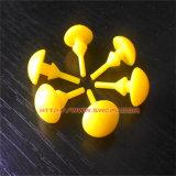 Colorful Ball Head Non Spill Plastic Fastener Stopper (SWCPU-P-C131)