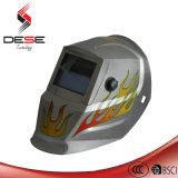 Silver Flame Picture Power Auto Darken Welding Helmet