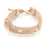 Fashion World Cup Bracelets Wedding Engagement Gift Mesh Gold Magnetic Bracelet