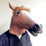 Horse Masquerade Realistic Scary Fancy Costume Party Halloween Mask
