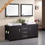 Fed-1108 72 Inch Soft Closing Espresso Double Sinks Bathroom Vanities