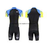 Short Sleeve Printing Cycling Clothes Quickly-Dry Fitness Suit Bicycle Wear